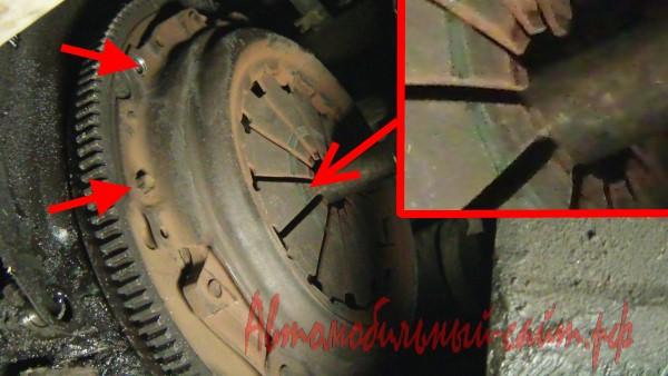 Фото №14 - ремонт сцепления ВАЗ 2110